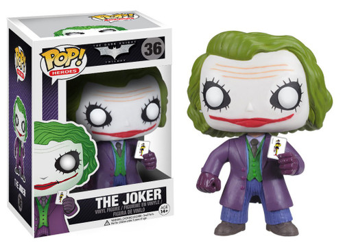 Funko Batman The Dark Knight POP! Heroes The Joker Vinyl Figure #36 [The Dark Knight]