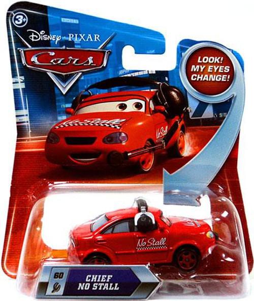 Disney / Pixar Cars Lenticular Eyes Series 2 Chief No Stall Diecast Car