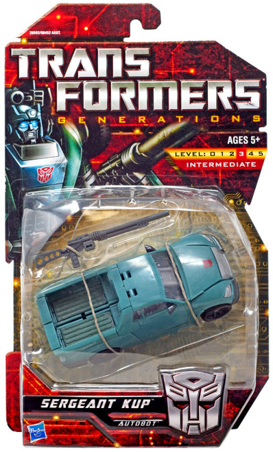 Transformers Generations Sergeant Kup Deluxe Action Figure