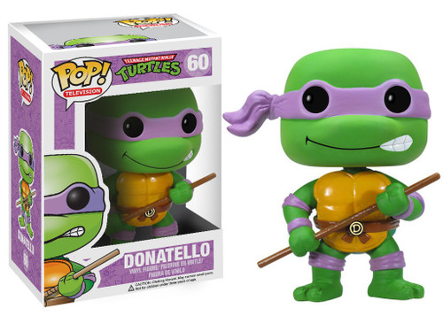 Funko Teenage Mutant Ninja Turtles POP! TV Donatello Vinyl Figure #60