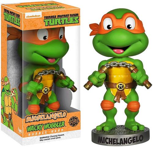Funko Teenage Mutant Ninja Turtles Wacky Wobbler Michelangelo Bobble Head