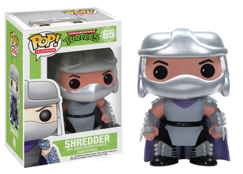Funko Teenage Mutant Ninja Turtles POP! TV Shredder Vinyl Figure #65