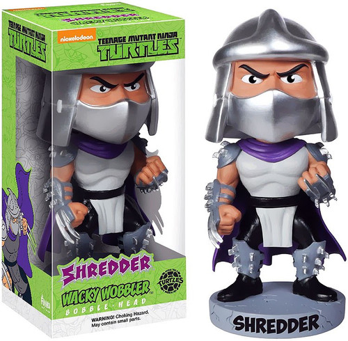 Funko Teenage Mutant Ninja Turtles Wacky Wobbler Shredder Bobble Head