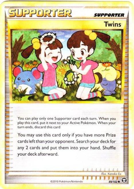 Pokemon HeartGold & Soulsilver Triumphant Uncommon Twins #89