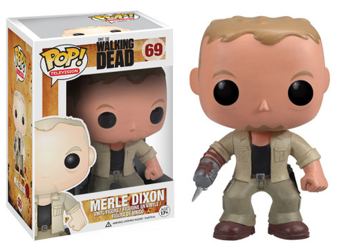 Funko The Walking Dead POP! TV Merle Dixon Vinyl Figure #69
