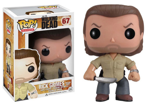 Funko The Walking Dead POP! TV Prison Yard Rick Grimes Vinyl Figure #67