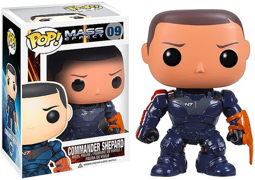 Funko Mass Effect POP! Games Commander Shepard Vinyl Figure #09