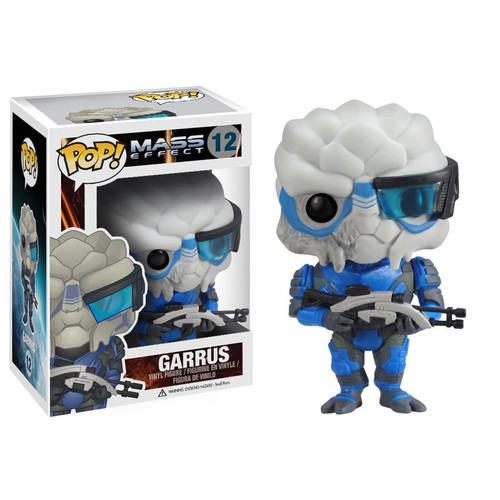 Funko Mass Effect POP! Games Garrus Vinyl Figure #12