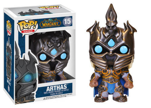 Funko World of Warcraft POP! Games Arthas Vinyl Figure #15