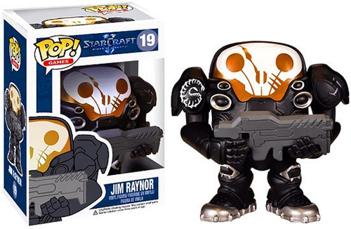 Funko Starcraft II POP! Games Jim Raynor Vinyl Figure #19