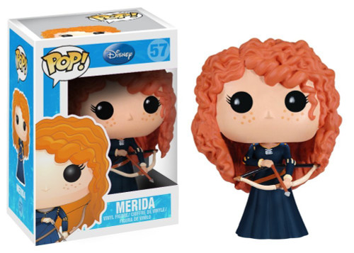 Funko Brave POP! Disney Merida Vinyl Figure #57