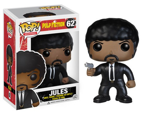 Funko Pulp Fiction POP! Movies Jules Vinyl Figure #62