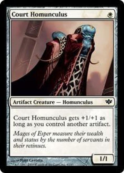 MtG Conflux Common Court Homunculus #6