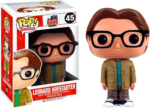 Funko The Big Bang Theory POP! TV Leonard Hofstadter Vinyl Figure #45