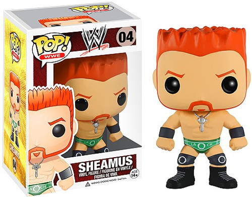 Funko WWE Wrestling POP! Sports Sheamus Vinyl Figure #04