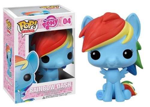 Funko POP! My Little Pony Rainbow Dash Vinyl Figure #04