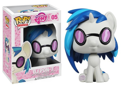 Funko POP! My Little Pony DJ Pon-3 Vinyl Figure #05