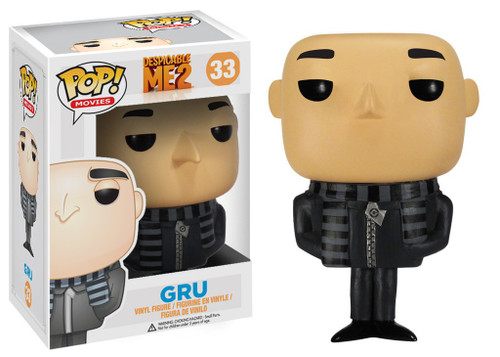 Funko Despicable Me 2 POP! Movies Gru Vinyl Figure #33