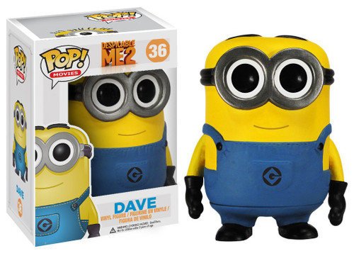 Funko Despicable Me 2 POP! Movies Dave Vinyl Figure #36