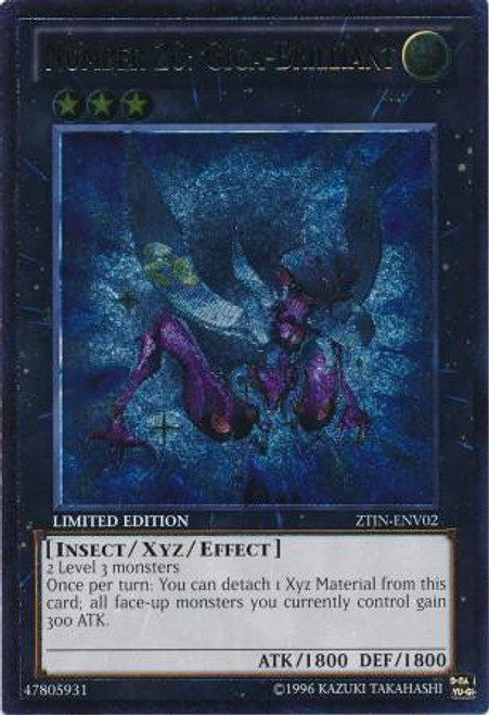 YuGiOh Trading Card Game 2013 Collector Tin Ultimate Rare Number 20: Giga-Brilliant ZTIN-ENV02