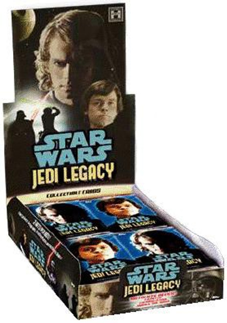 Star Wars Topps Jedi Legacy Trading Card Box [24 Packs]