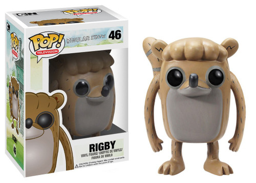 Funko Cartoon Network Regular Show POP! TV Rigby Vinyl Figure #46