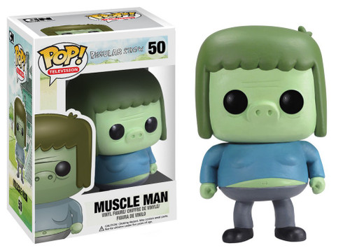 Funko Cartoon Network Regular Show POP! TV Muscle Man Vinyl Figure #50