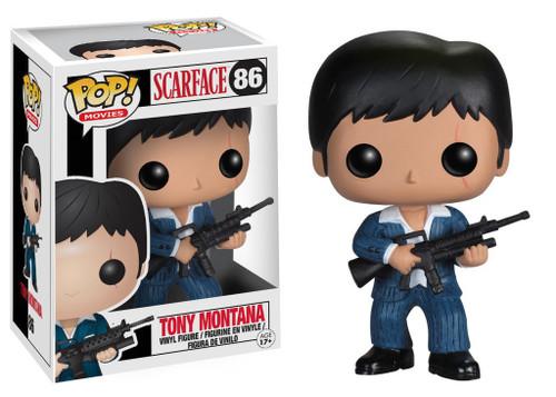 Funko Scarface POP! Movies Tony Montana Vinyl Figure #86