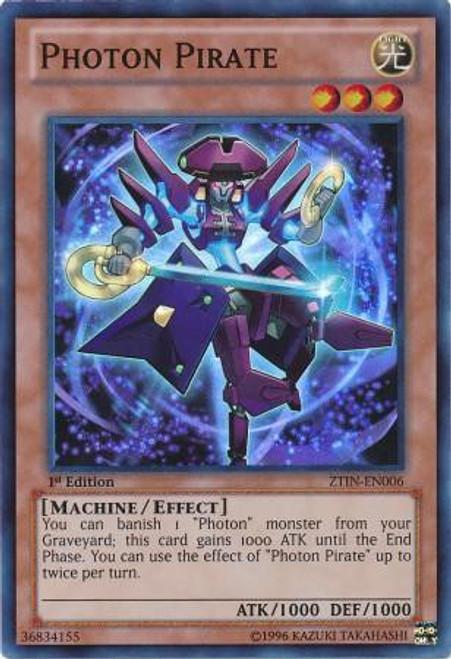 YuGiOh Trading Card Game 2013 Collector Tin Super Rare Photon Pirate ZTIN-EN006