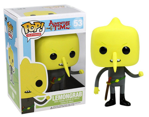 Funko Adventure Time POP! TV Lemongrab Vinyl Figure #53