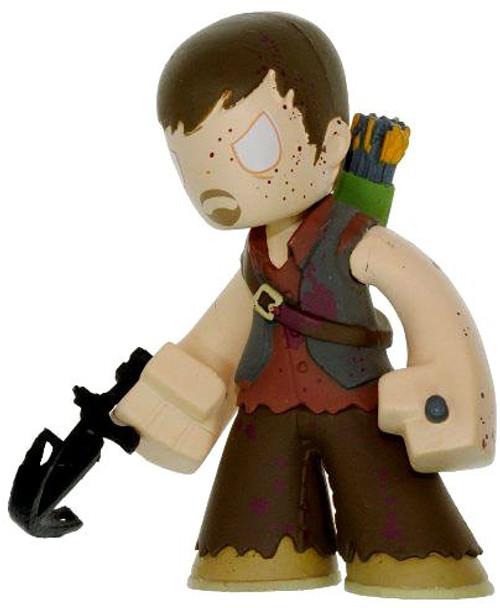 Funko The Walking Dead Mystery Minis Series 1 Bloody Daryl Dixon 1/144 Mystery Minifigure [Blood Splattered Loose]