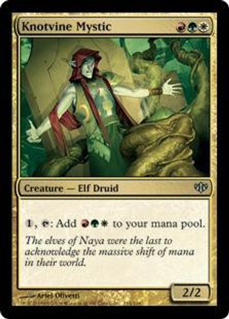 MtG Conflux Uncommon Knotvine Mystic #114
