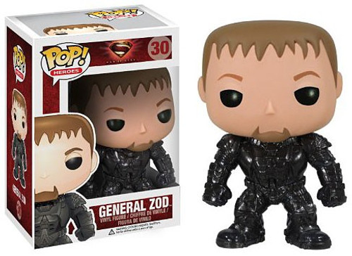 Funko Superman Man of Steel POP! Heroes General Zod Vinyl Figure #30