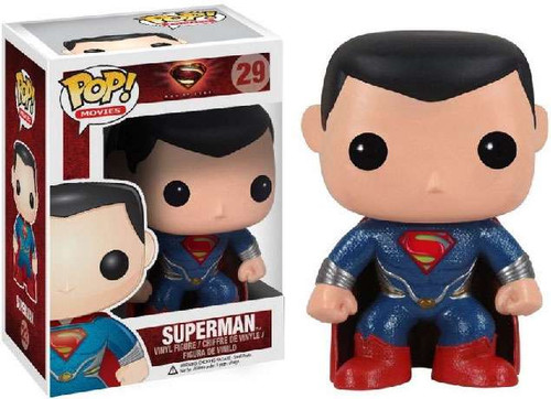 Funko Man of Steel POP! Heroes Superman Vinyl Figure #29