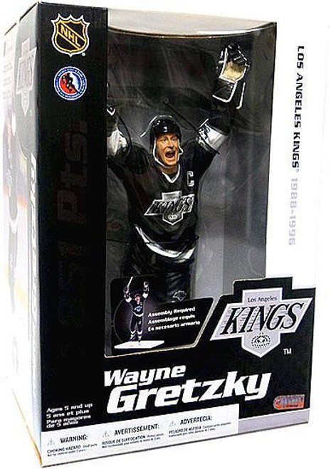 McFarlane Toys NHL Los Angeles Kings Sports Picks Deluxe Wayne Gretzky Action Figure [L.A. Kings]