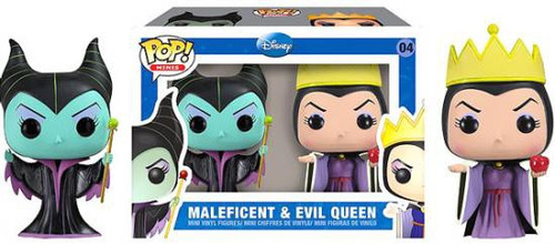 Funko Sleeping Beauty POP! Disney Maleficent & Evil Queen Mini Figure 2-Pack #04