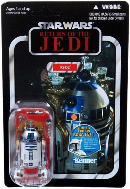 Star Wars Return of the Jedi 2011 Vintage Collection R2-D2 Action Figure #25 [Lightsaber & Drink Tray]