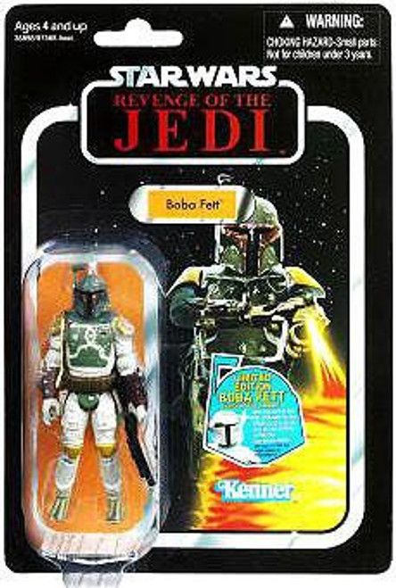 Star Wars Return of the Jedi 2011 Vintage Collection Boba Fett Action Figure #09