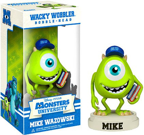 Funko Disney / Pixar Monsters University Wacky Wobbler Mike Wazowski Bobble Head
