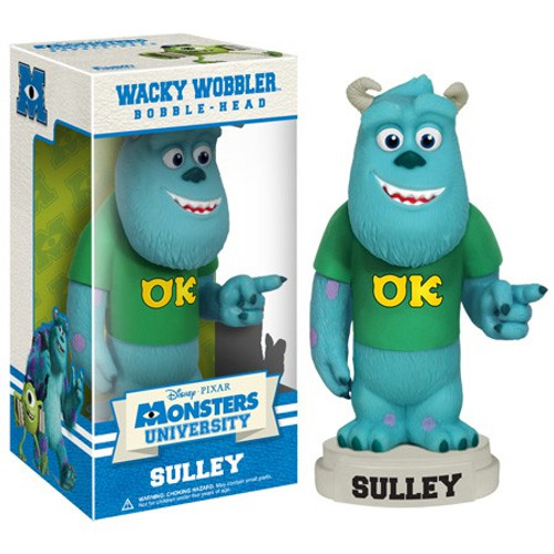 Funko Disney / Pixar Monsters University Wacky Wobbler Sulley Bobble Head