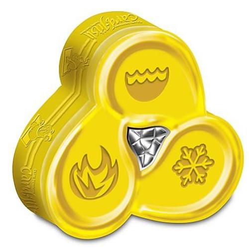 Club Penguin Card-Jitsu Trading Card Game Water Series 4 Tin Set [Gold]