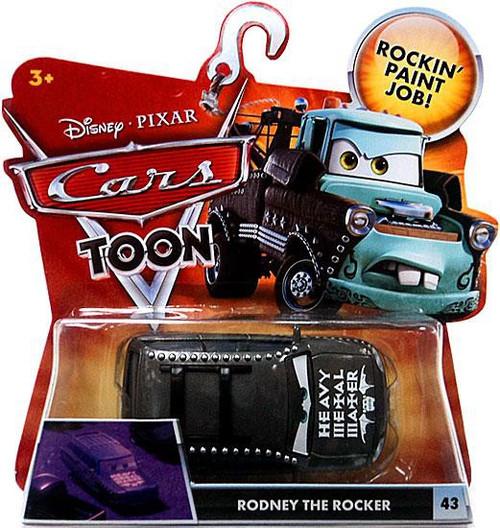 Disney / Pixar Cars Cars Toon Main Series Rodney The Rocker Diecast Car #43