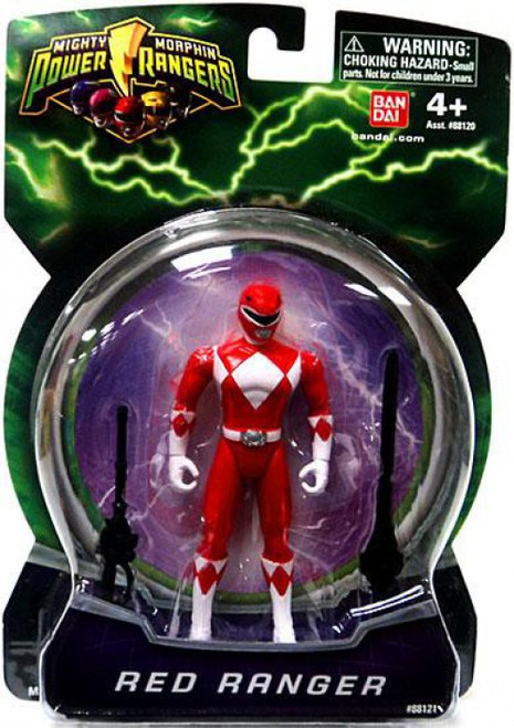 Power Rangers Mighty Morphin 2010 Red Ranger Action Figure