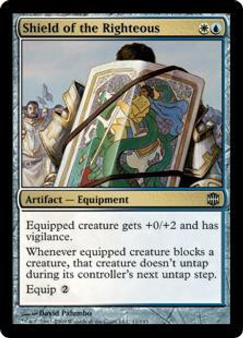 MtG Alara Reborn Uncommon Shield of the Righteous #11