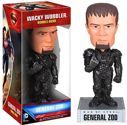 Funko Superman Man of Steel Wacky Wobbler General Zod Bobble Head
