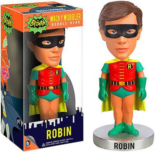 Funko Batman 1966 TV Series Wacky Wobbler Robin Bobble Head