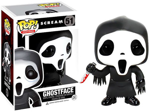 Funko Scream POP! Movies Ghostface Vinyl Figure #51
