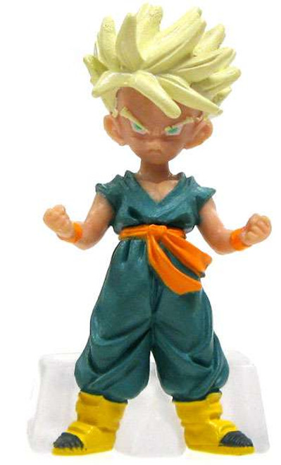 Dragon Ball Z Super Saiyan Young Trunks 2-Inch PVC Figure