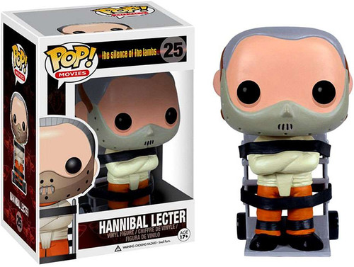 Funko Silence of the Lambs POP! Movies Hannibal Lecter Vinyl Figure #25 [Straightjacket & Mouth Guard]