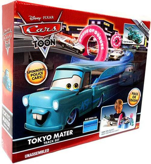 Disney / Pixar Cars Cars Toon Playsets Tokyo Mater Diecast Car Track Set